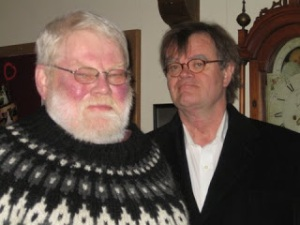 Bill Holm and fellow Minnesotan Garrison Keillor