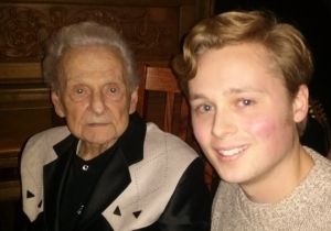 Ralph Stanley and Matt